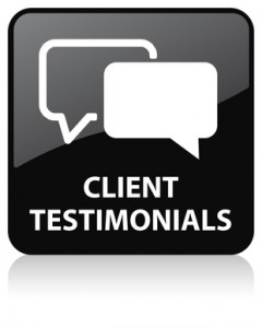 Read What our Clients are Saying About Their Results