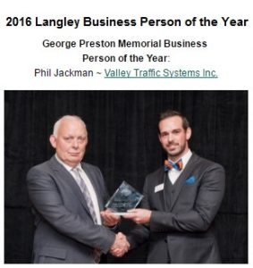 Langley Business person