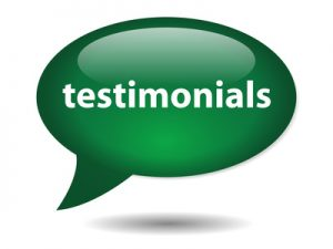 testimonials about finding success in business