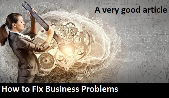 fix solve business problems